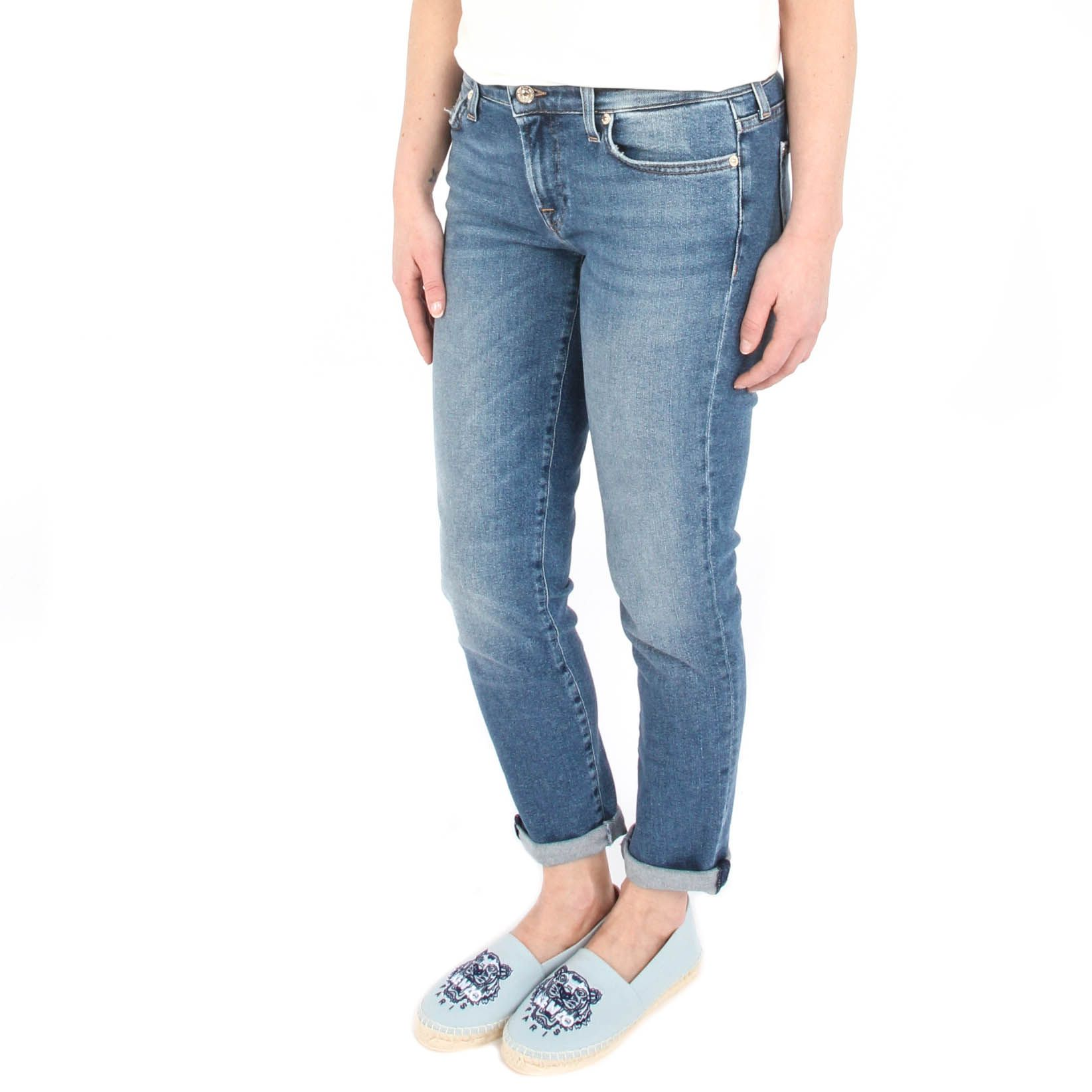 7 for all mankind Pyper Crop Luxe Vintage