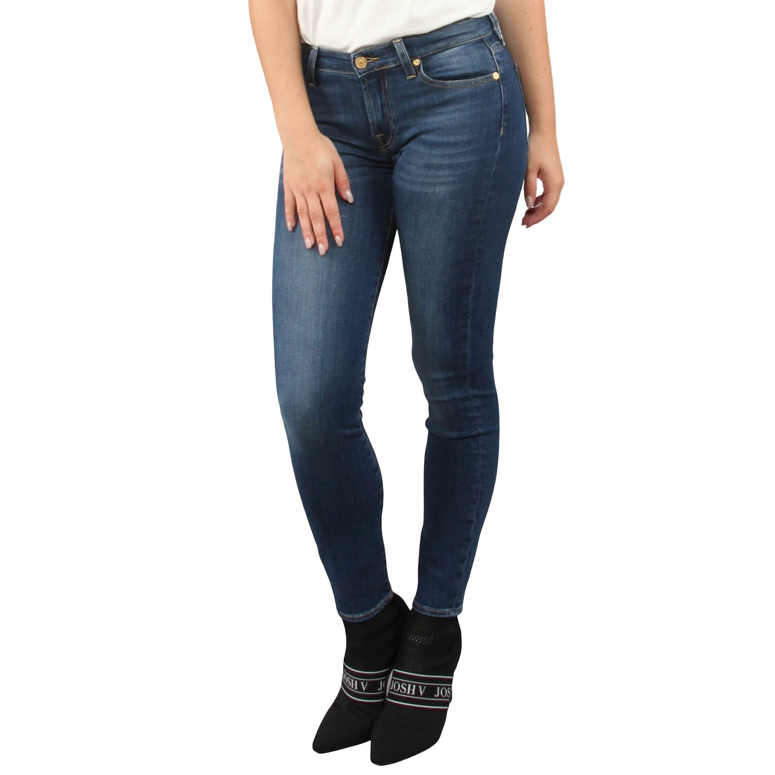 7 for all mankind The Skinny Crop Bair Duchess