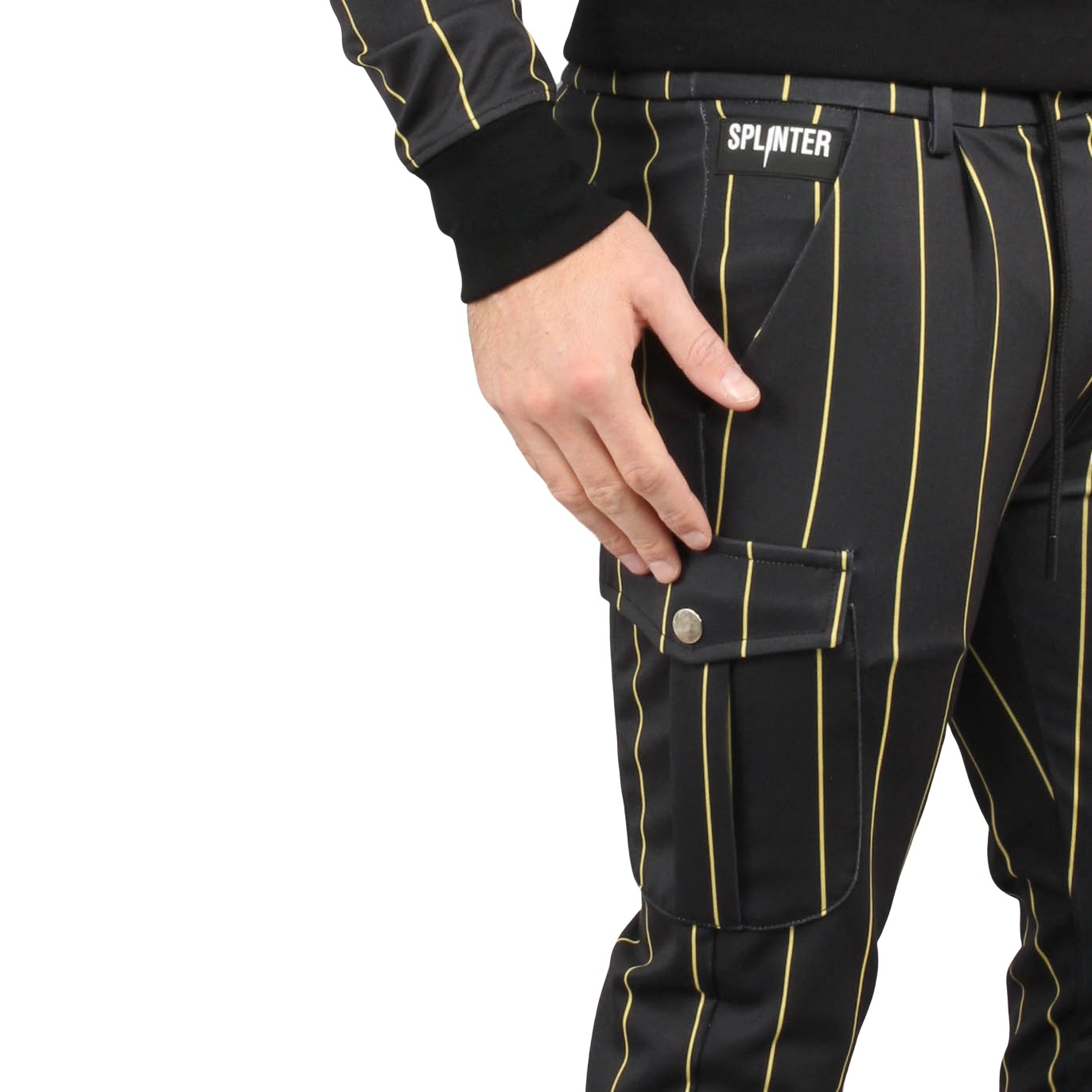 Cargo Trackpants Striped