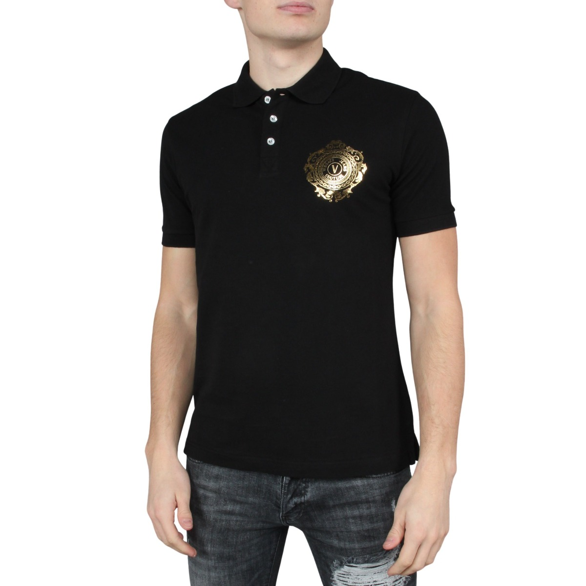 Polo WUP S VEMBL Versace Jeans Couture