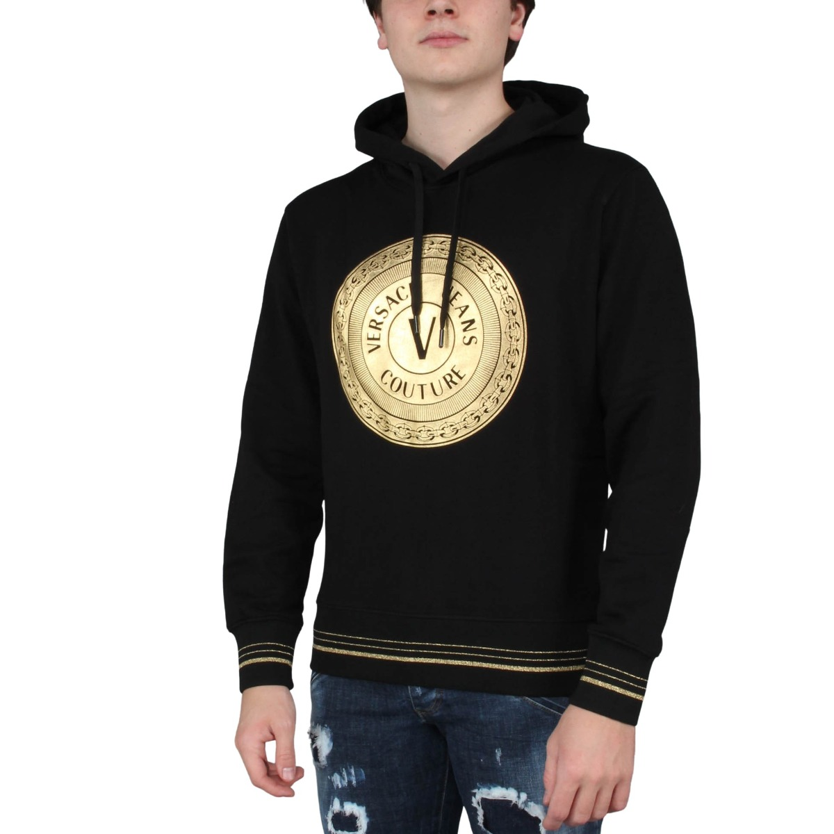 Hoodie WUP Round FUll Versace Jeans Couture