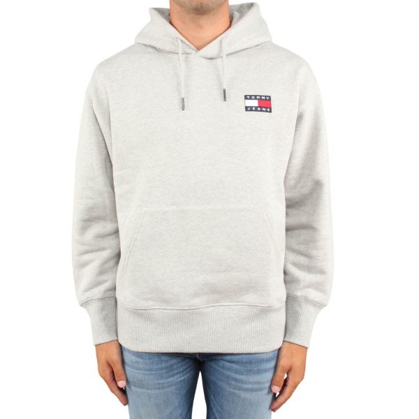 Tommy Hilfiger Tommy Badge Hoodie grijs   JHP Fashion