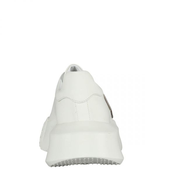 Lo-Top Sneakers Statement white