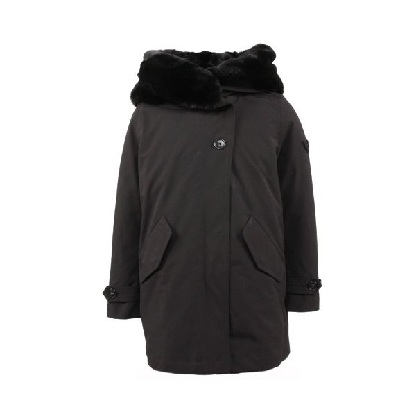 Short Teddy Parka