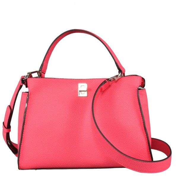 Uptown Chic Turnlock Satchel