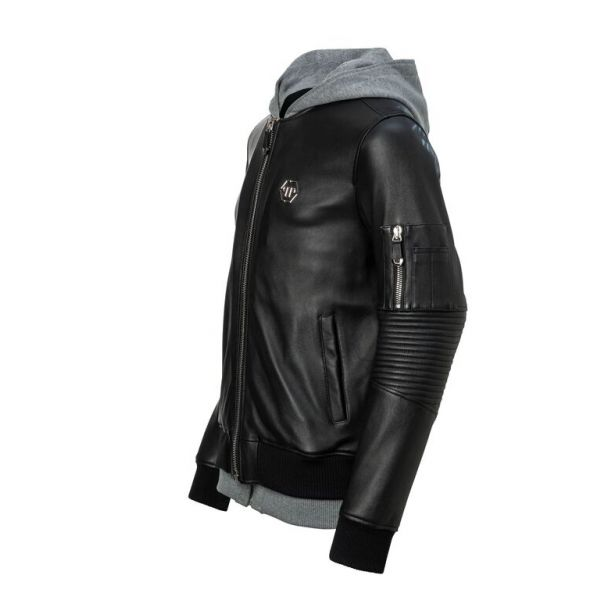 Titouan Leather Jacket