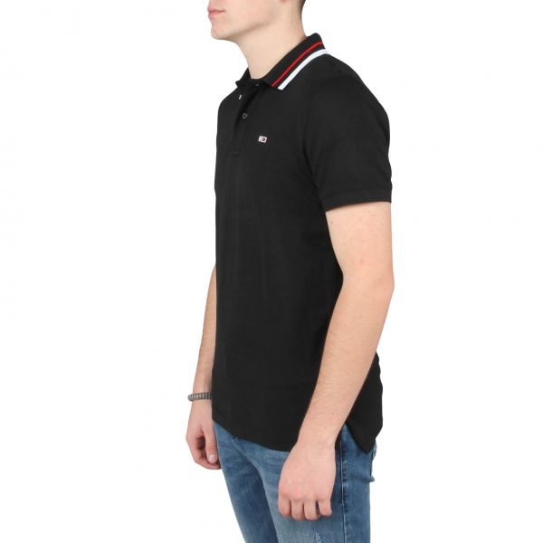 TJM Classics Tipped Stretch Polo