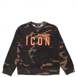 Dsquared2 Relax Icon Sweat Shirt Wit | Winkelstraat.nl